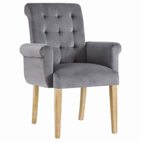 Premise Wood Armchair, Gray [FREE SHIPPING]