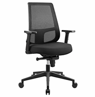 Pump Office Chair, Black [FREE SHIPPING]