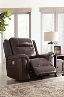 Ashley Furniture PWR Recliner/ADJ Headrest, Coffee