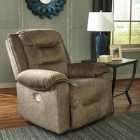 Ashley Furniture PWR Recliner/ADJ Headrest, Mocha