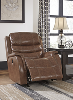 Ashley Furniture PWR Rocker REC/ADJ Headrest, Nutmeg