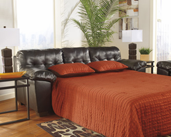 Ashley Furniture Queen Sofa Sleeper, Chocolate