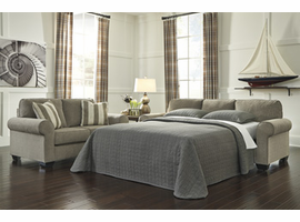 Ashley Furniture Queen Sofa Sleeper, Fog