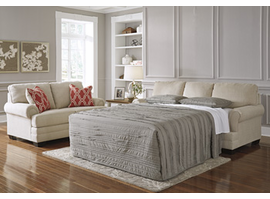 Ashley Furniture Queen Sofa Sleeper, Stone