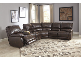 Ashley Furniture RAF Zero Wall Power Recliner, Saddle