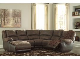 Ashley Furniture RAF Zero Wall Recliner, Coffee