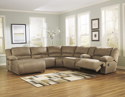 Ashley Furniture RAF Zero Wall Recliner, Mocha
