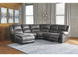 Ashley Furniture RAF Zero Wall Recliner, Slate