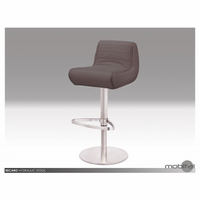 Recaro Hydraulic Stool In Grey Leatherette
