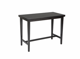 Kimonte - D250-13 - RECT Dining Room Counter Table - Dark Brown