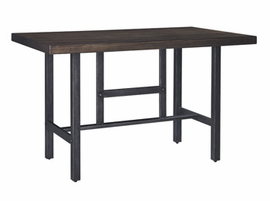 Kavara - D469-13 - RECT Dining Room Counter Table - Medium Brown
