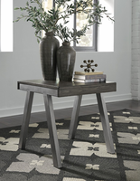 Ashley Express Furniture Rectangular End Table, Grayish Brown