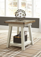 Ashley Express Furniture Rectangular End Table, Two-tone