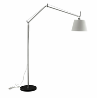 Reflect Aluminum Floor Lamp, Black [FREE SHIPPING]