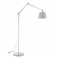 Reflect Aluminum Floor Lamp, Silver [FREE SHIPPING]