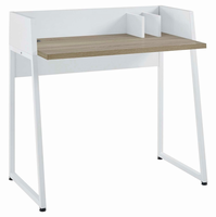 Relay Writing Desk, White Natural [FREE SHIPPING]