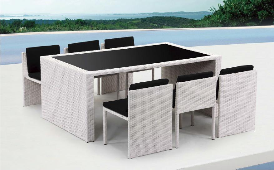 Click To Enlarge. Renava Taurus   Table And 6 Chair Patio Dining Set