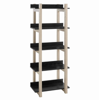 Reprieve Bookcase, Natural Black [FREE SHIPPING]