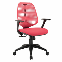 Reverb Office Chair, Red [FREE SHIPPING]