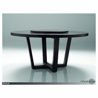 "Revolve Round Dining Table 62"" Oak Wenge"