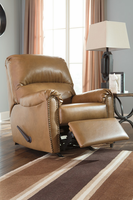Ashley Furniture Rocker Recliner, Almond