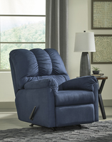 Ashley Furniture Rocker Recliner, Blue