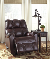 Ashley Furniture Rocker Recliner, Burgundy