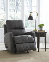 Ashley Furniture Rocker Recliner, Charcoal