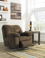 Ashley Furniture Rocker Recliner, Chocolate