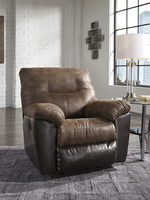 Ashley Furniture Rocker Recliner, Coffee