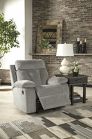 Ashley Furniture Rocker Recliner, Fog