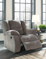 Ashley Furniture Rocker Recliner, Gray