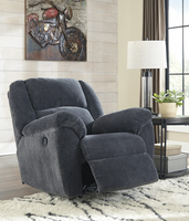 Ashley Furniture Rocker Recliner, Indigo
