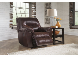 Ashley Furniture Rocker Recliner, Mahogany