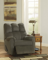 Ashley Furniture Rocker Recliner, Moss