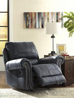 Ashley Furniture Rocker Recliner, Navy