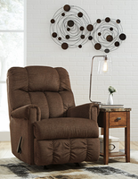 Ashley Furniture Rocker Recliner, Pecan