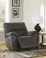 Ashley Furniture Rocker Recliner, Pewter