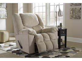 Ashley Furniture Rocker Recliner, Putty