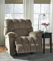 Ashley Furniture Rocker Recliner, Sable