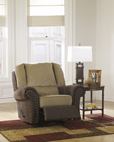 Ashley Furniture Rocker Recliner, Sand