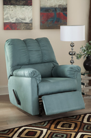 Ashley Furniture Rocker Recliner, Sky