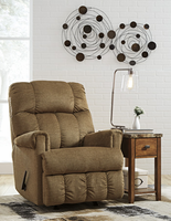 Ashley Furniture Rocker Recliner, Straw