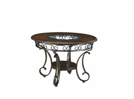 Glambrey - D329-15 - Round Dining Room Table - Brown