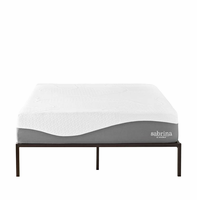 "Sabrina 12"" Queen Memory Foam Mattress, White [FREE SHIPPING]"