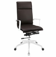 Sage Highback Office Chair, Brown [FREE SHIPPING]