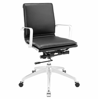 Sage Mid Back Office Chair, Black [FREE SHIPPING]