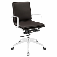 Sage Mid Back Office Chair, Brown [FREE SHIPPING]