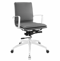 Sage Mid Back Office Chair, Gray [FREE SHIPPING]
