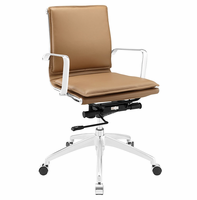 Sage Mid Back Office Chair, Tan [FREE SHIPPING]